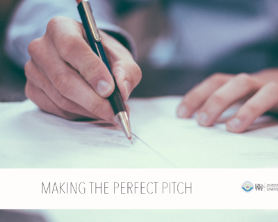 Creating a Perfect Pitch for a Micro Enterprise Program