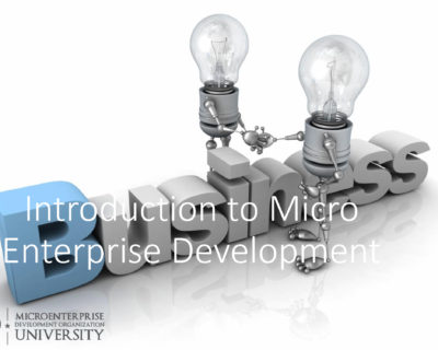 Introduction to Micro Enterprise Development